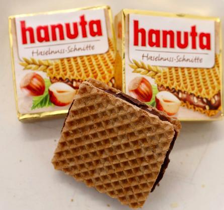 Hanuta格子榛果巧克力餅乾