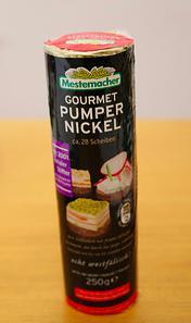 pumpernickel 裸麥餅乾