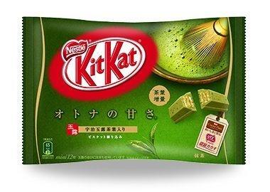 歪國零食嘴-威化餅乾-日本限定-雀巢-KitKat-抹茶威化巧克力