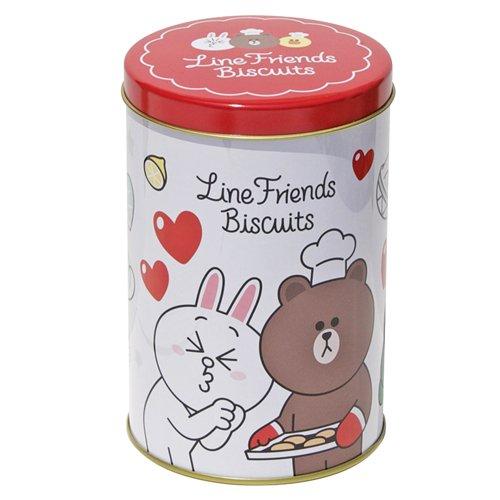 hokka-line-friends奶茶餅乾2