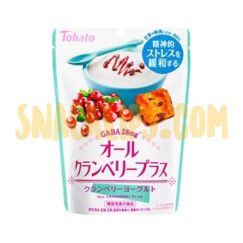 【日本】東鳩GABA 蔓越莓果乾優格餅乾