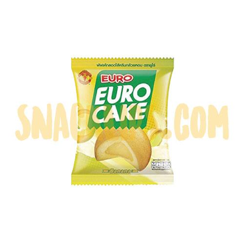 【泰國】Euro-Cake-香蕉卡士達風味