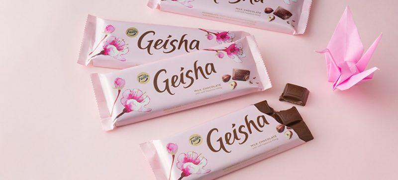 geisha_origami波羅的海三小國精選必買超市零食—拉脫維亞篇_機場零食_歐洲瘋日本_藝伎巧克力_粉紅色_可愛零食