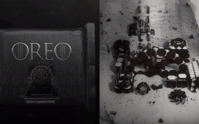 史詩級餅乾登場!Oreo攜手《權力遊戲》推出限量造型餅乾